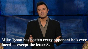 SETH MACFARLANE on Mike Tyson at the Charlie Sheen Roast... ( i.imgur ...