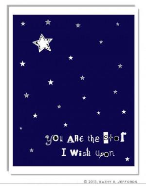 ... Celestial Quote Art, Constellations Art, Typographic Print, Night Sky