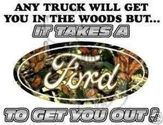 Ford girl right here! More