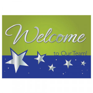 Home > Welcome To Our Team! Greeting Card