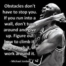 Quick write: Read the following quote in which Micheal Jordan explains ...