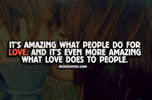 Love Quotes | What Love Does