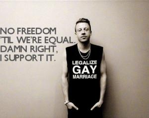 Macklemore Quotes Same Love