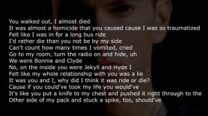 Eminem lyrics stronger