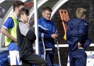 Training ground injury ends Academy striker s season