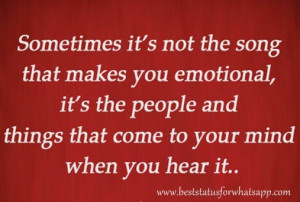 One Line Best Emotional Status Quotes for Whatsapp