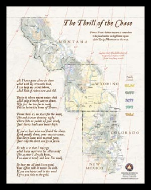 forrest fenn treasure map