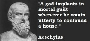 Aeschylus famous quotes 2