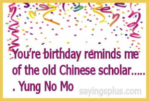 50th Birthday Sayings & Funny 50th Birthday Quotes