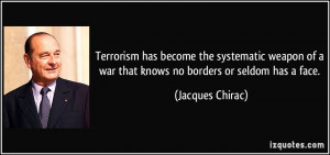 More Jacques Chirac Quotes