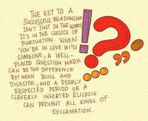 punctuation from the lover s dictionary by david levithan