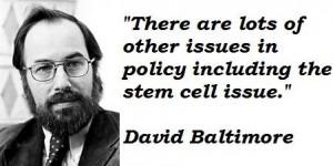 David baltimore famous quotes 2