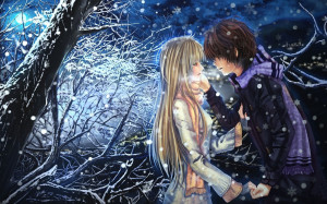 Emo Couple In Love Wallpapers