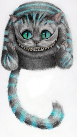 Cheshire Cat - From Tim Burton's Movie by Riuko-chan