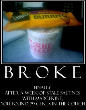 Being Broke Quotes Being broke