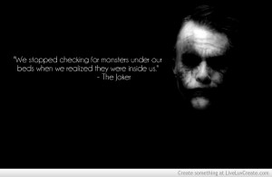 Heath Ledger Joker Quote