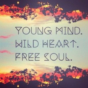 ... Quotes, Care Free Quotes, Wild Heart Quotes, Heart Free, Free Soul