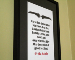Popular items for frida kahlo quote