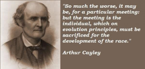 Arthur cayley famous quotes 2