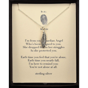 From Your Guardian Angel...