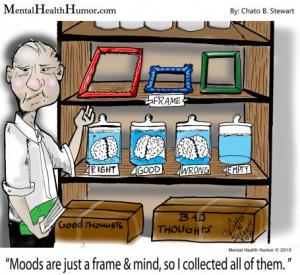 Frame of mind Mental Health Humor Chato Stewart psychology cartoons ...