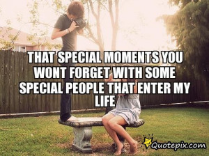 Special People in My Life Quotes