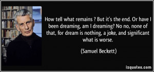More Samuel Beckett Quotes