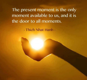 That is living, truly embracing every second.