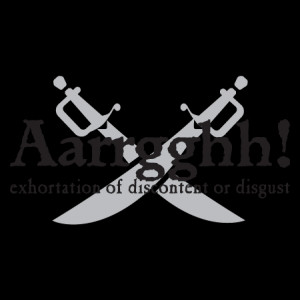 Aaarrgghh Pirate Definitely Wall Quotes™ Decal