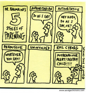 Research shows that there are four main parenting styles (D. Baumrind ...