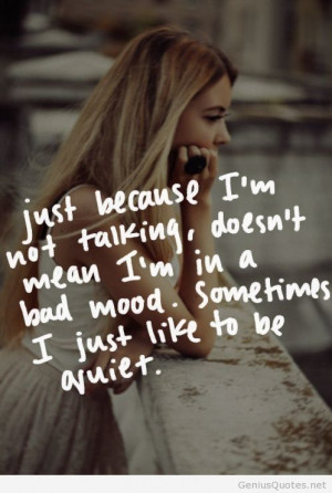 Tumblr girl quote image