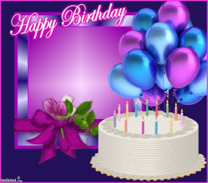 Purple Happy Birthday Quotes Quotesgram