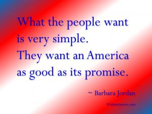 Barbara Jordan Quote - © Jone Johnson Lewis