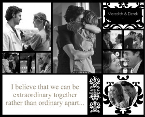 Grey's Anatomy Meredith and Derek