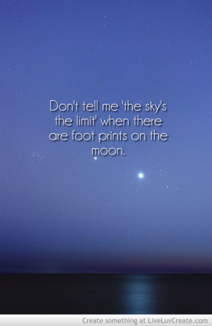 The Sky Limit Inspirational