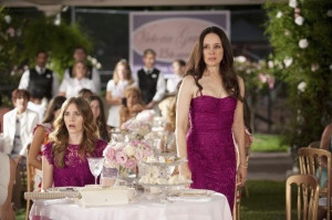 Madeleine Stowe and Christa B. Allen in Revenge (2011)