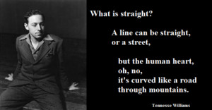 LBGTQ* Quips and QuotesTennessee Williams (playwright of A Streetcar ...