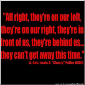 USMC; LOVE this quote.