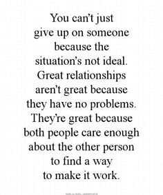 Tumblr Quotes Never Give Up On Someone You Love ~ Treated Bad Quotes ...