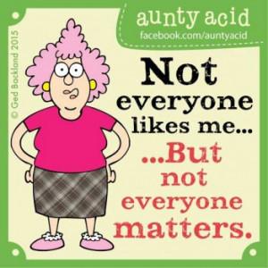 Aunty Acid Sayings
