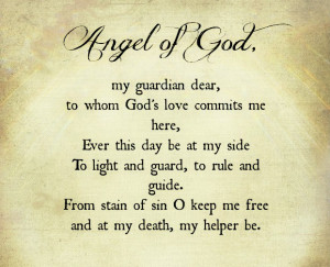My Guardian Angel Quotes Tumblr ~ Gallery For > Guardian Angel Quotes