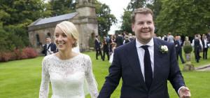 Groom James Corden Married His Long Term Girlfriend Julia Carey
