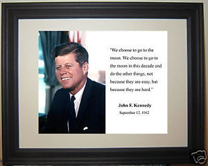 John-F-Kennedy-to-the-moon-Famous-Quote-Framed-Photo-Picture