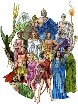 Zeus,Apollo,Electra,Poseidon,Hades,Aphrodite,Athena,Hera,Hercules ...