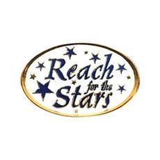 ... Lapel Pins >> Motivation >> Motivation Award Pin -Reach for the Stars