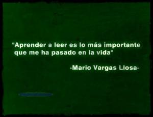 Imagenes Con Frases De Mario Vargas Llosa Aprender A Leer