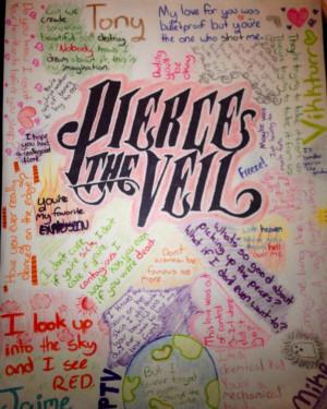 deviantART: More Like Pierce The Veil Wallpaper by thexskiesxlimit