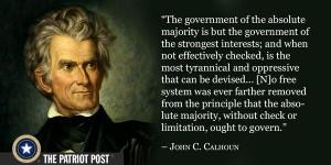 Quote: John C. Calhoun
