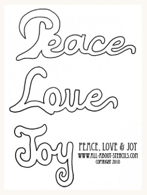 ... stencil word sayings. It's a Free Printable Stencil for you to print