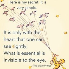 Little Prince. Quotes.